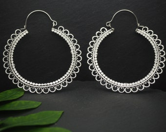ZALTANA Silver Plated Earrings