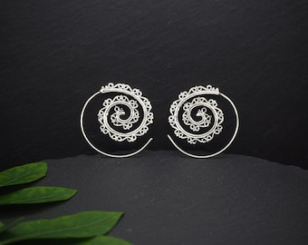 AMA Silver Plated Earrings