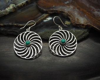 KOLENYA Turquoise Silver Plated Earrings