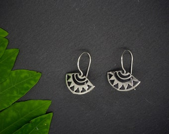 ETHETE Silver Plated Earrings
