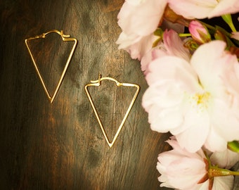 ZUNI Earrings Sterling Silver 925 18ct Gold Plated