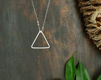 The MINIMALIST Large Sterling Silver 925 Pendant