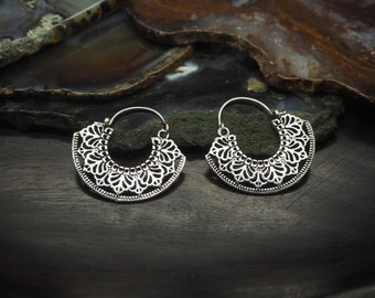 HALONA Silver Plated Earrings