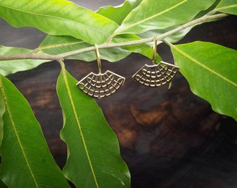 CHITSA Tribal Brass Earrings