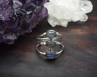 DOLI Labradorite Sterling Silver 925 Ring