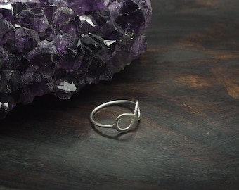 INFINITY Sterling Silver 925 Ring