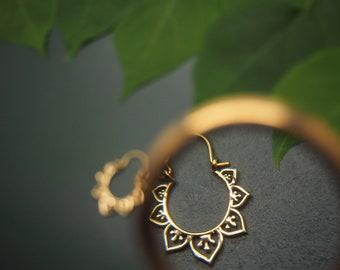 SIHU Tribal Brass Earrings
