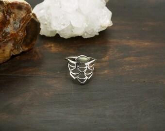 WAKI Labradorite Sterling Silver 925 Ring
