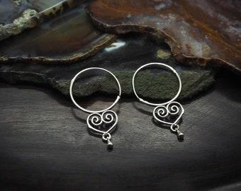 KIMINELA Silver Plated Earrings