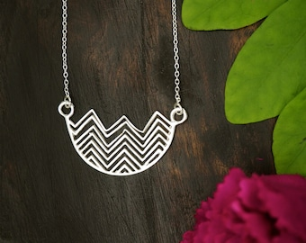THE FLOW Sterling Silver 925 Necklace
