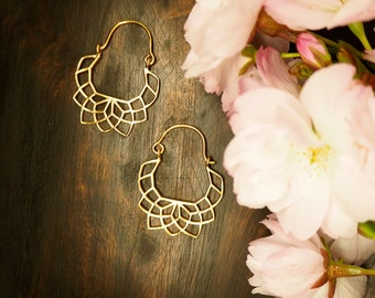 NAMID Earrings Sterling Silver 925 18ct Gold Plated