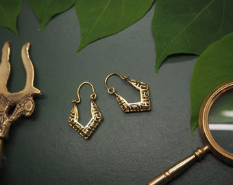 KAI Tribal Brass Earrings