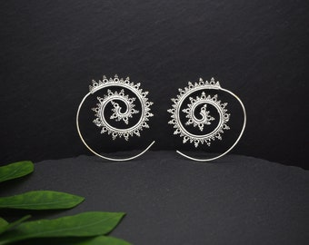 DAKODA Silver Plated Earrings
