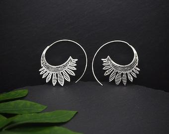 NATI Silver Plated Earrings