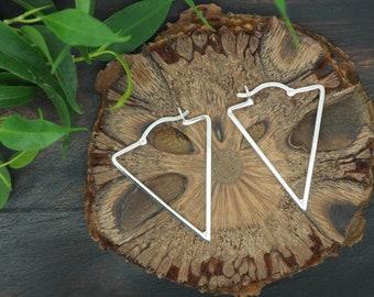MINAL Sterling Silver 925 Earrings