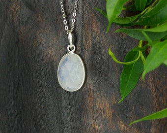 AMITOLA Moonstone Sterling Silver 925 Pendant