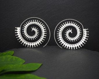 KOKO TRIBAL Silver Plated Earrings