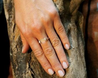 SATINKA Mountain Crystal  Sterling Silver 925 Ring
