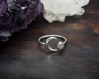 JACI Moonstone Sterling Silver 925 Ring