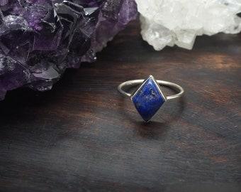 MAHU Lapis Lazuli Sterling Silver 925 Ring