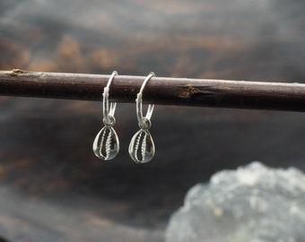 SHELL Earrings Sterling Silver 925
