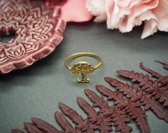 Tree of Life Brass Ring