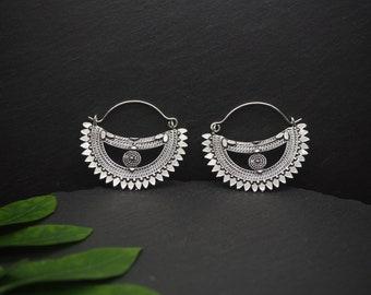 AMAYETA Silver Plated Earrings