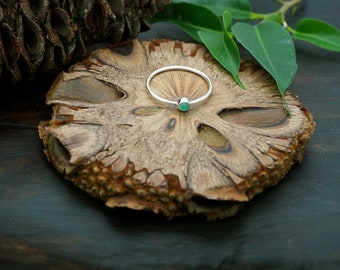 ANGENI green Onyx Sterling Silver 925 Ring