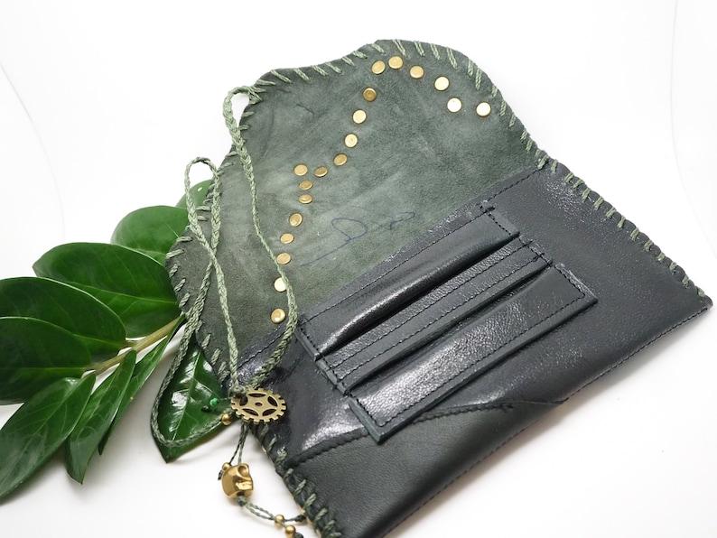 Tobacco Pouch Orenda Leather Dark Green