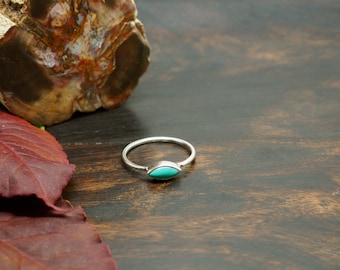 LOMASI Turquoise Sterling Silver 925 Ring