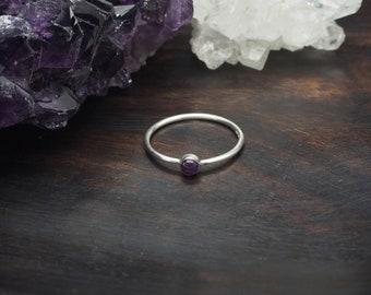 ANGENI Amethys Sterling Silver 925 Ring