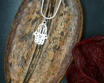 FATIMA Silver Plated Pendant