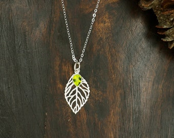 ABEY Peridot Sterling Silver 925 Pendant