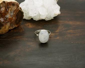 KAYA Moonstone Sterling Silver 925 Ring