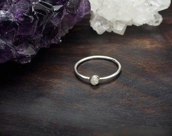 ANGENI Moonstone Sterling Silver 925 Ring