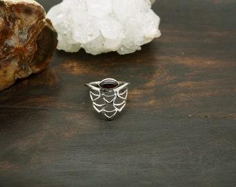 WAKI Garnet Sterling Silver 925 Ring