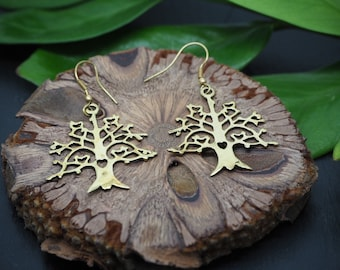 Earrings Brass