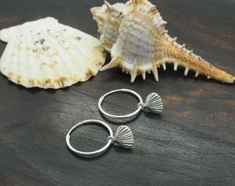 SHELL Earring Sterling Silver 925