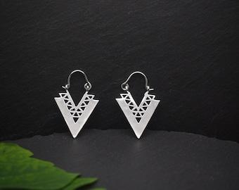 ADSILA Silver Plated Earrings