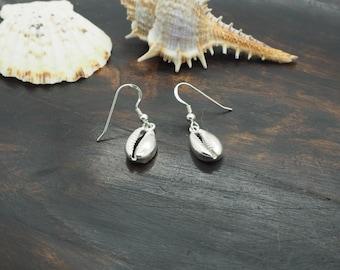 SHELL Sterling Silver 925 Earrings