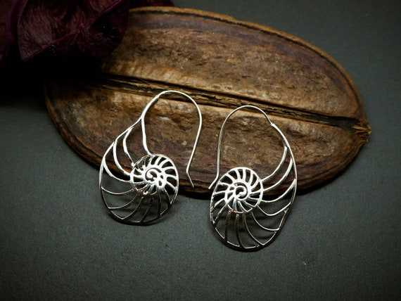 Fossil Silver Plated Hoop Earrings