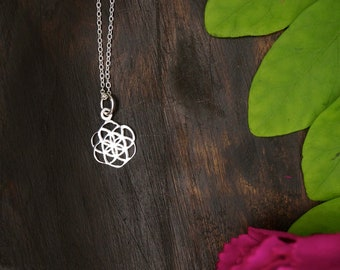 SEED OF LIFE Small Sterling Silver 925 Pendant