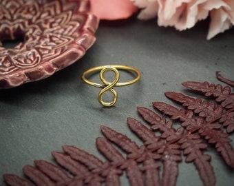 Infinity Brass Ring