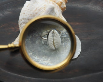 SHELL Sterling Silver 925 Ring