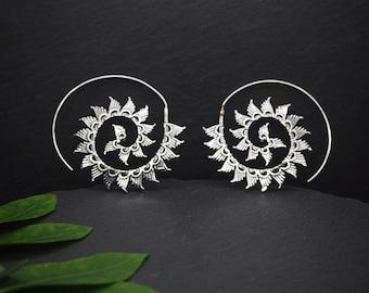 YENENE Silver Plated Earrings