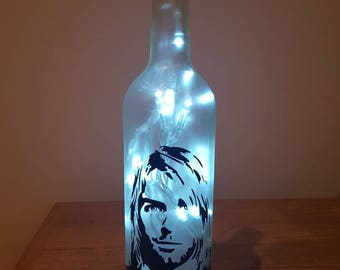 Snow Patrol chasing cars bottle lamp valentines gift