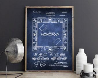 Monopoly poster monopoly art print monopoly art monopoly monopoly art monopoly art print monopoly poster monopoly blueprint monopoly patent monopoly wall art wall decor printable art gift malvernweather Choice Image