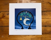 Glasgow Coat of Arms signed mounted print 30 x 30cm - Stuart Brown Photography- Charles Rennie Mackintosh - Glasgow print - FREE DELIVERY