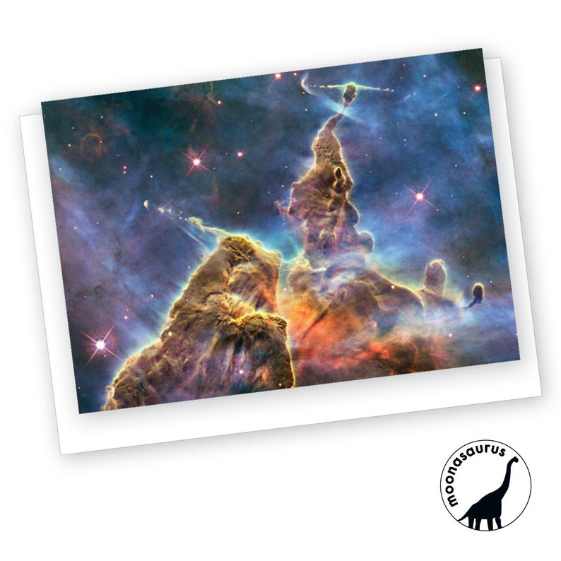 Carina Nebula Greeting Card Blank Card Space Stationery image 0