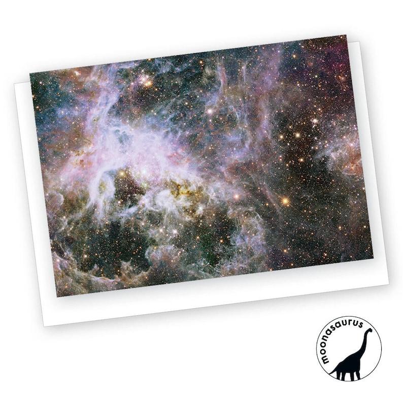 Tarantula Nebula Greeting Card Blank Card Space Stationery image 0
